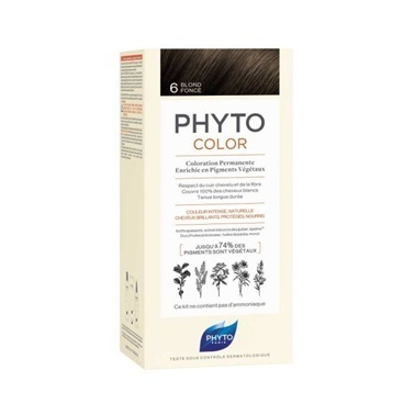 PHYTO Phytocolor 6 Dark Blonde Kahve